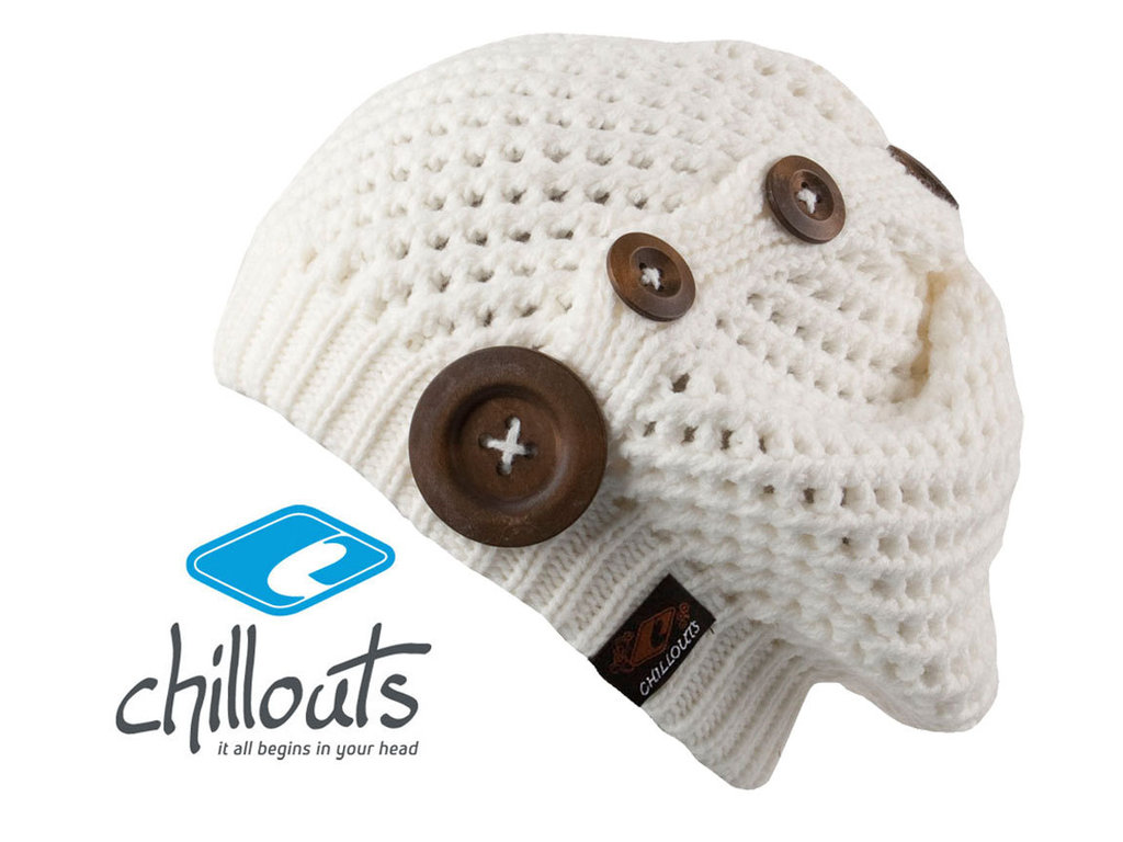 6d172a0a3077f6 Nelly Beanie Mütze Chillouts Wintermütze weiss