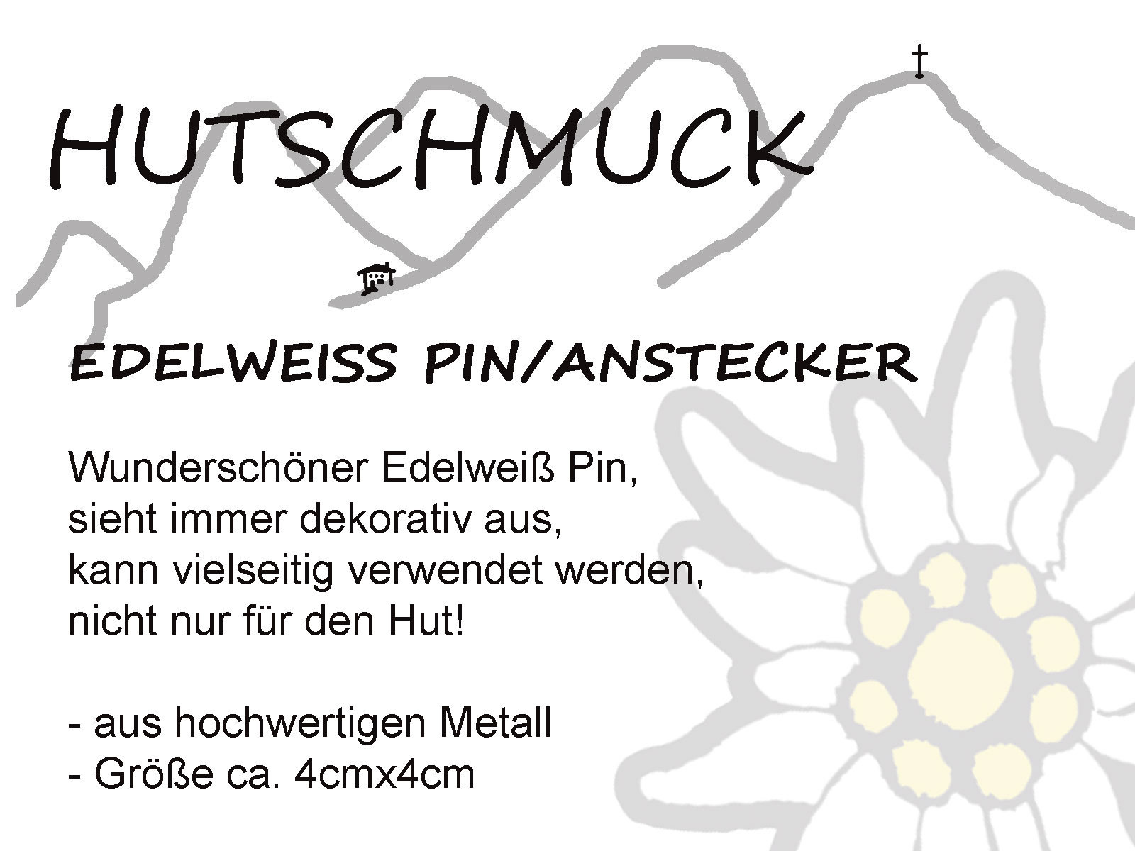 Edelweiss-Pin-gross-text